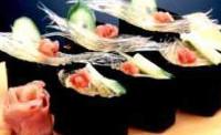 フカヒレ風の寿司,寿司ネタにどうぞ 栗林物産